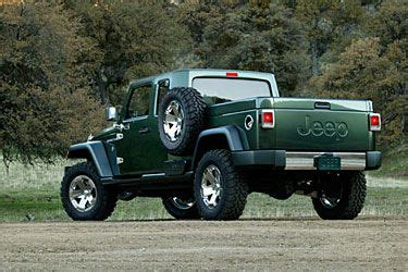 jeep concept truck gladiator a look at the jeep gladiator concept truck