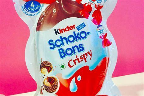 Kinder Schoko Bons Crispy s 252 223 e news kinder schoko bons gibt s jetzt auch in wei 223