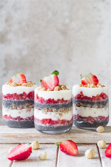 layer dessert in glass strawberry layer cake in a glass use your noodles