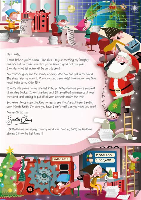 charity santa letter 33 best nspcc letter from santa images on
