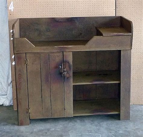 changing table with sink rustic dry sink that would make an adorable baby changing