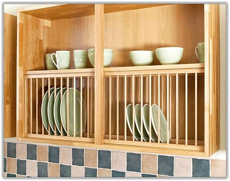 wooden plate rack platerack dish holder rack wood plate