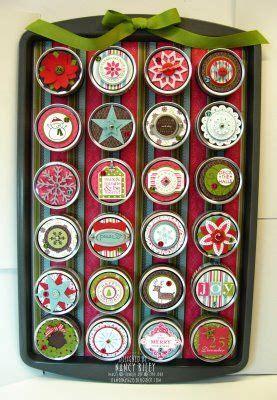 I Stamp By Nancy Riley Cookie Sheet Advent Calendar Like