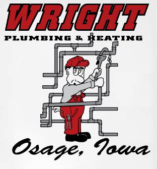 Iowa Plumbing License by Wright Plumbing Heating Air Conditioner Osage Ia