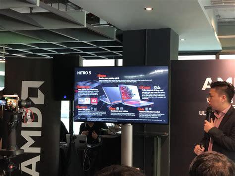 Harga Acer Nitro 5 2018 acer nitro 5 dengan cpu amd ryzen dan kad grafik amd