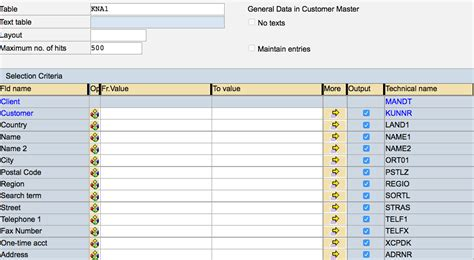 Read Table by Guide To Using Rfc Read Table To Query Sap Tables