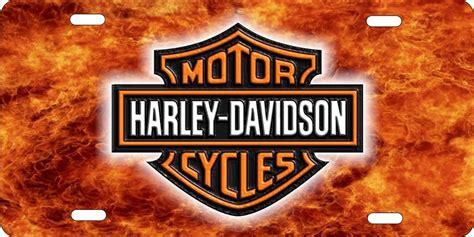 Harley Davidson License Plates For Cars personalized novelty license plate harley davidson custom