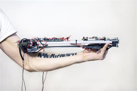 tattoo machine noise a robotic machine worn on the arm turns tattoos into music