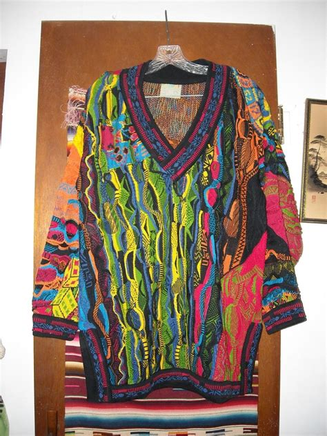 colorful sweaters mens coogi colorful theme cotton sweater m sweaters