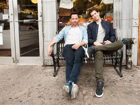 nick kroll and jake johnson nick kroll and john mulaney talk taking on broadway