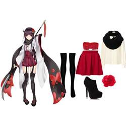 anime inspired inu x boku ss inspired polyvore