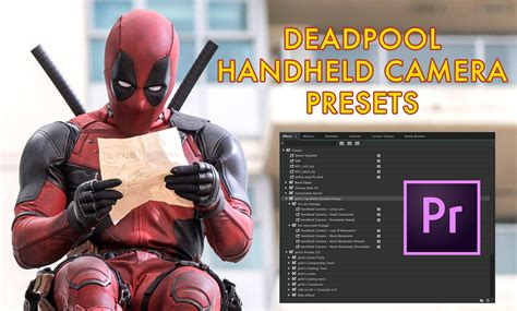 Credit Template Premiere Deadpool Premiere Pro Presets Vashi Visuals