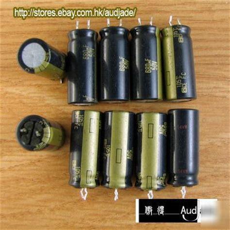 panasonic fc capacitors review new 32pcs 680uf 63v panasonic fc audio capacitors