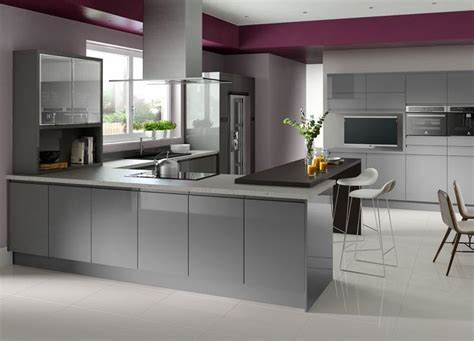 Gloss Grey Kitchen Cabinets by Click To Enlarge Image Gloss Grey J Pull Jpg Ideas