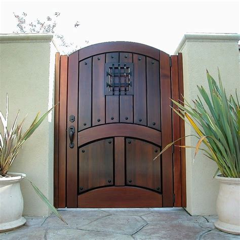 Handmade Designer - custom wood gates garden passages