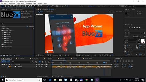 After Effects Template Tutorial App Promo Youtube After Effects App Template
