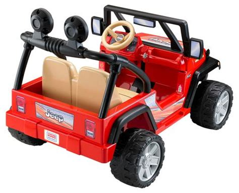 Power Wheels Jeep Walmart Fisher Price Power Wheels Jeep Wrangler Lava Black