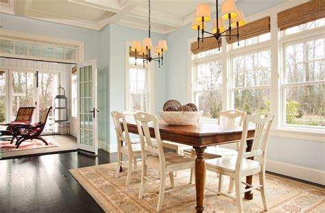 most popular kitchen paint colors dining room traditional with rug shade
