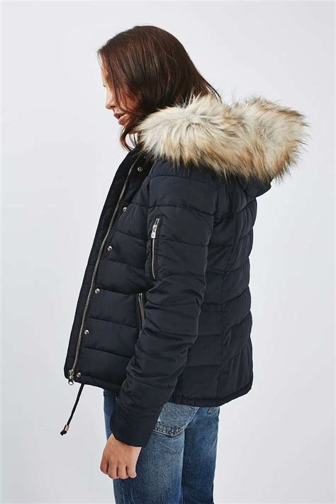 Quilted Puffer Jacket by Quilted Puffer Jacket Topshop