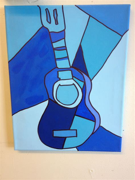 picasso paintings with guitar picasso guitar canvas paintings picasso
