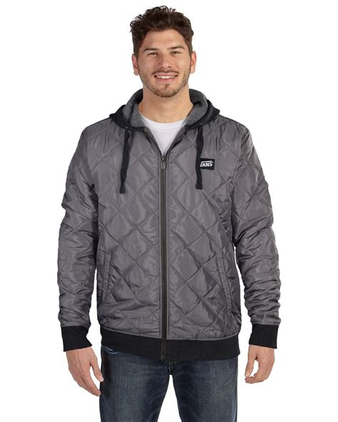 Vans Quilted Jacket by Vans S Ripton Quilted Puffer Lightweight Jacket Ebay