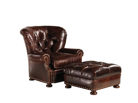 restoration hardware leather ottoman restoration hardware churchill leather chair and ottoman