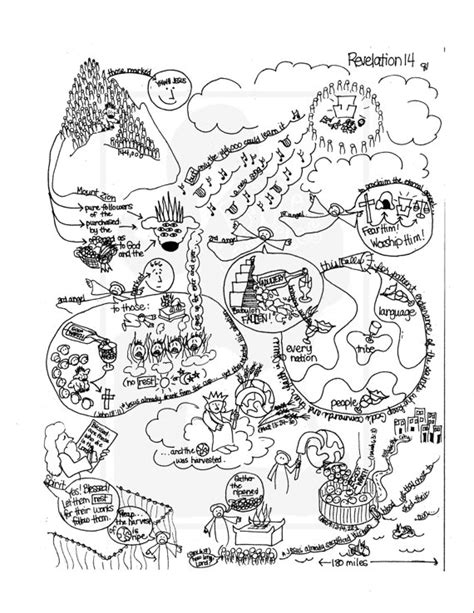 doodle new study bible doodle study guide for revelation 14 the and the