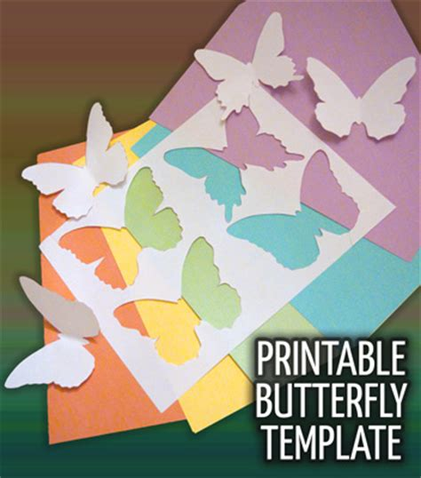 printable butterfly template babytalk bungalow