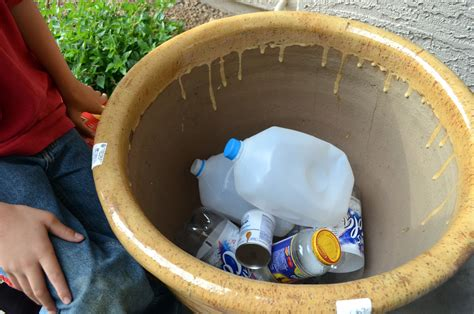 Why Adding Trash To Pots Is A Good Idea Ramblings From A What To Put In Bottom Of Planter For Drainage