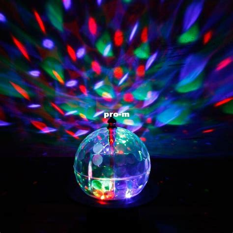 rotating disco light xtar rotating disco led lights clear white