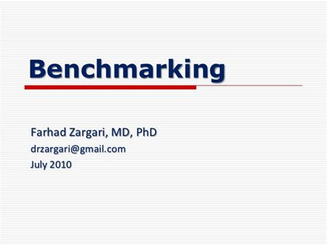 define bench marking benchmarking