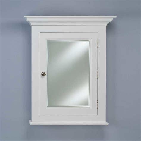 afina wilshire 25 quot semi recessed mirrored medicine cabinet