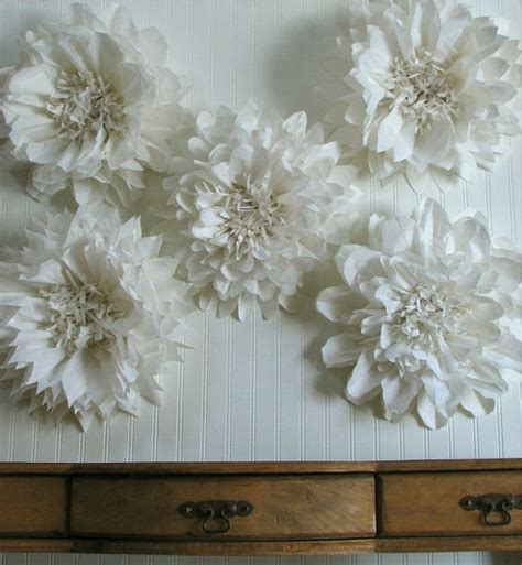 How To Make Hanging Tissue Paper Flowers - create a flower wall back drop or hang tissue paper