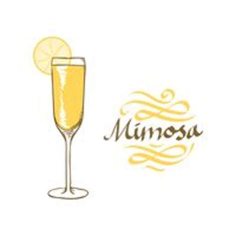 mimosa clipart mimosa drink clip cliparts