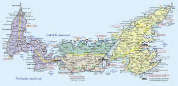 charlottetown canada map about prince edward island motorcycle tour guide