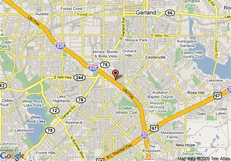 where is garland texas on map map of microtel inn suites dallas garland garland
