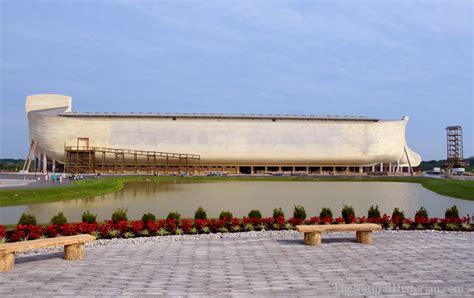 ark boat museum ken ham s ark encounter opens to a flood of press but