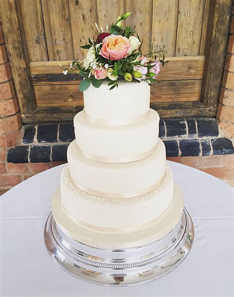 Wedding Cake With Fresh Flowers by Wedding Cakes Archives The Cakery Leamington Spa