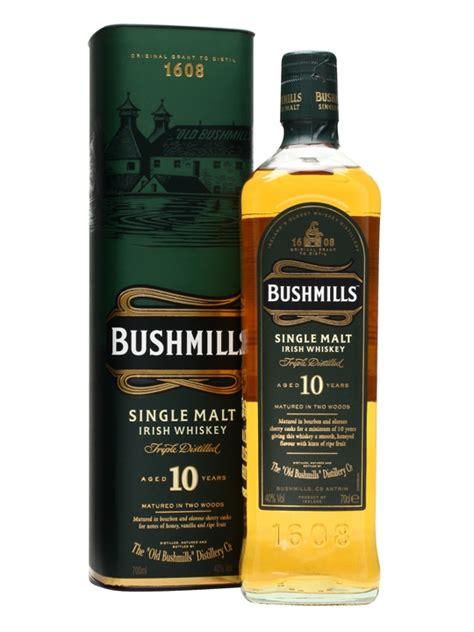 Channel Cenna 1608 bushmills 10 year the whisky exchange