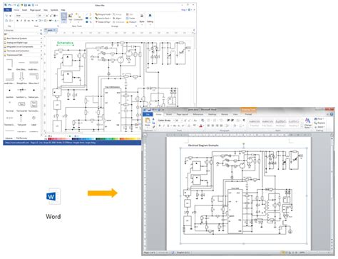 circuit diagram in word wiring diagram