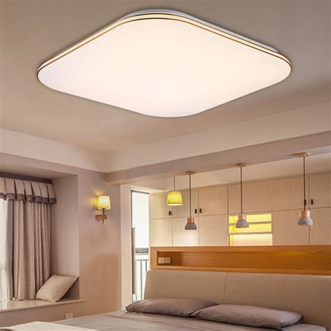 Ceiling Document by 36w 8640 Lumens Square Led Ceiling Light Dimmable With