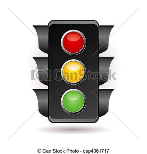 Traffic Light Drawing by Stock Illustrations Of Traffic Light Csp4361717 Search