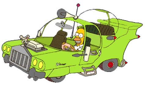 the homer car a real version of homer simpsons