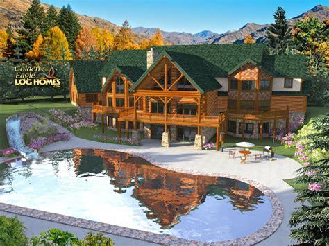 Timber Frame Cabin Floor Plans golden eagle log and timber homes floor plan details log