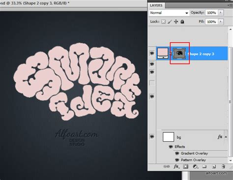 adobe photoshop shapes tutorial learn how to create realistic brain text effect this
