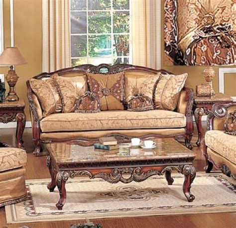 best furniture denmark gold wood trim olive copper fabric sofa