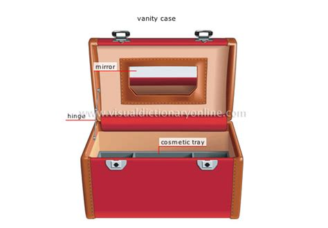 Vanity Dict by Clothing Articles Personal Articles Luggage 6