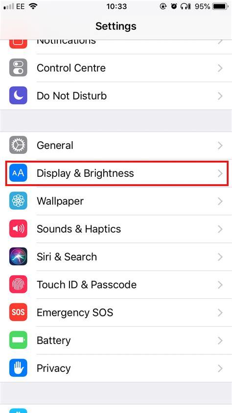 settings    change   apple iphone
