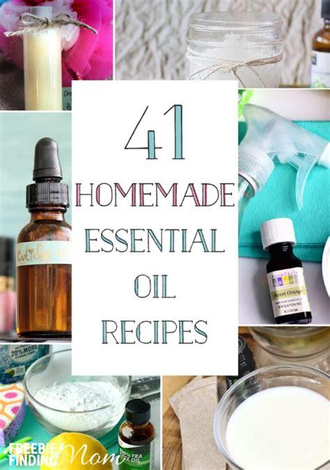 diy essential oils 41 easy essential recipes