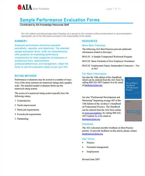 evaluation form in word 31 employee evaluation form templates free word excel